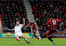 Pemain Bournemouth Joshua King baru mencatatkan gol Liga Inggris ketiganya musim ini, Sabtu malam melawan Stoke City, tapi terbukti menjadi gol penting dalam kemenangan 2-1.