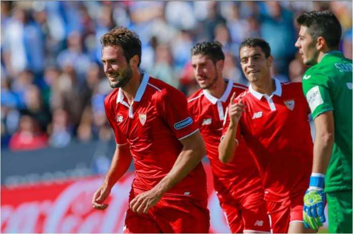 Sevilla berhasil mencetak satu gol tandang penting pada leg pertama babak semi final Copa del Rey di kandang Leganes, Kamis, yang usai dengan skor 1-1.