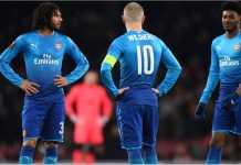 Arsenal kalah 1-2 pada leg kedua babak 32 besar melawan Ostersunds, namun lolos ke babak 16 besar Liga Europa, Jumat.