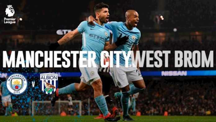 Hasil Liga Inggris - Hasil Manchester City vs West Brom