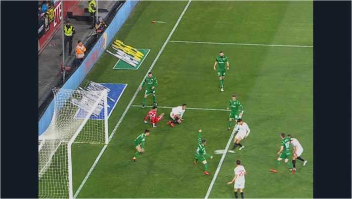 Joaquin Correa mencetak gol bagi Sevilla pada leg kedua semi final Copa del Rey melawan pembunuh raksasa, Leganes, Kamis.