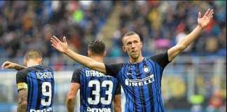 Laju Inter Milan terhambat cedera dua bintangnya, Ivan Perisic dan Joao Miranda.