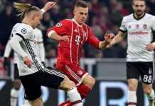 Bayern Munchen samai rekor kemenangan dalam 14 laga yang pernah mereka bukukan sebelumnya, saat membantai Besiktas 5-0, Rabu (21/2).