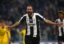 Juventus akan bermain tanpa striker andalannya, Gonzalo Higuain, yang tengah cedera, saat mereka menjamu Atalanta di leg kedua semifinal Coppa Italia, Rabu (28/2) malam nanti.