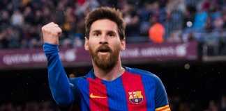 Lionel Messi bukukan penampilannya yang ke-300 di Camp Nou dalam laga melawan Getafe, Minggu (11/2) malam WIB.
