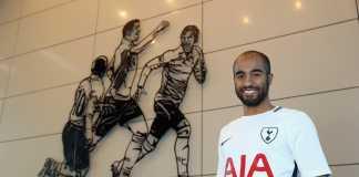 Lucas Moura, pemain baru milik Tottenham Hotspur