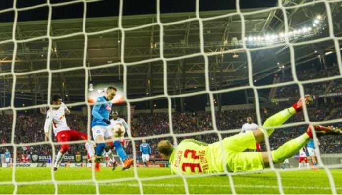 Walau menang 2-0 di kanang RB Leipzig, Jumat (23/2), namun Napoli harus akui keunggulan klub Bundesliga dan tersingkir dari ajang Liga Europa musim ini.
