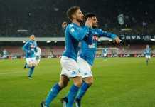 Napoli vs Lazio - Liga Italia
