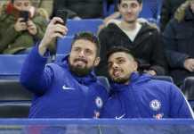 Olivier Giroud dan Emerson Palmieri masih duduk di bench saat Chelsea dipermalukan Bournemouth, 0-3, Kamis (1/2) dinihari WIB.
