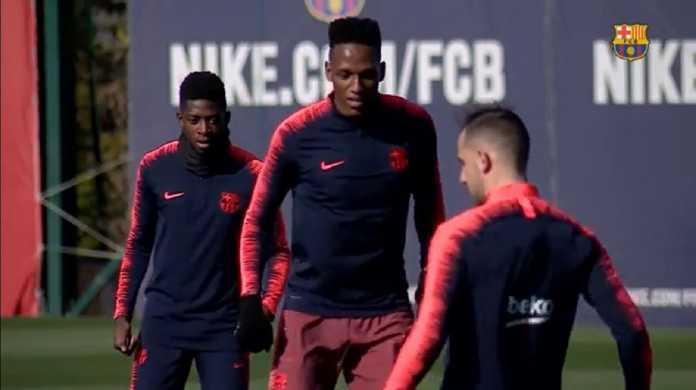 Ousmane Dembele dan Thomas Vermaelen telah kembali ke kamp latihan Barcelona jelang laga kontra Eibar akhir pekan ini.