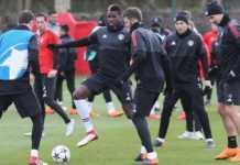 Paul Pogba berpeluang bermain di kandang Sevilla, setelah ia kembali ikuti latihan skuad Setan Merah awal pekan ini.