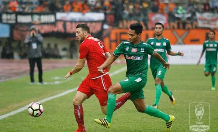 Persija Jakarta akhirnya berhasil melaju ke semifinal Piala Presiden 2018 setelah kalahkan PSMS Medan, 1-0, dan menang agregat 5-1.