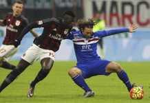 AC Milan akan menjamu Sampdoria di Stadion San Siro, Senin (19/2) WIB.
