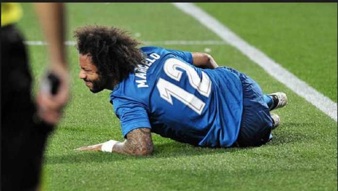 Real Madrid khawatirkan kondisi beknya, Marcelo, yang alami cedera di kandang Real Betis, jelang leg ke dua babak 16 besar Liga Champions di PSG.