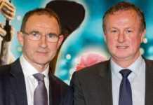 Micheal O'Neill dan Martin O'Neill akan bersama-sama Republik Irlandia dan Irlandia Utara akan bertemu di sebuah laga persahabatan, untuk pertama kalinya sejak 2011 silam.