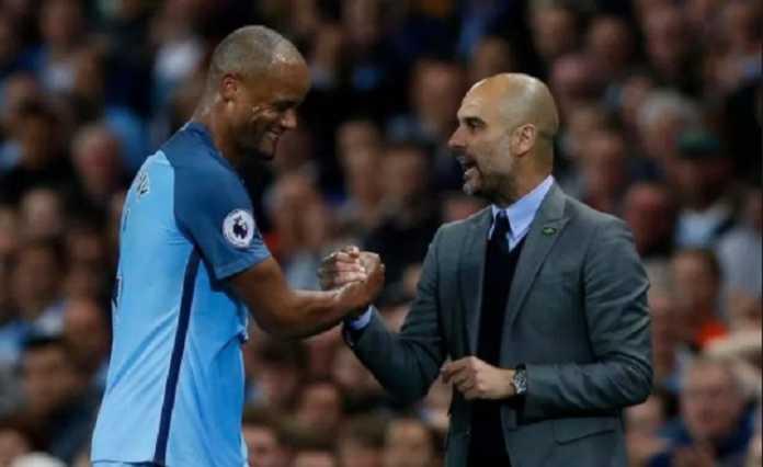 Pep Guardiola yakinkan Vincent Kompany bahwa pemain itu masih jadi bagian Manchester City.