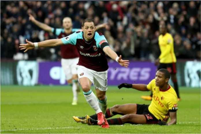 Hasil Liga Inggris : West Ham United vs Watford Skor Akhir 2-0