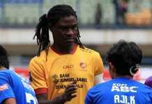 Bio Paulin dapat perpanjangan kontrak di Sriwijaya FC, jelang dimulainya Liga 1 Indonesia/2018.