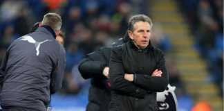 Claude Puel, manajer Leicester City.