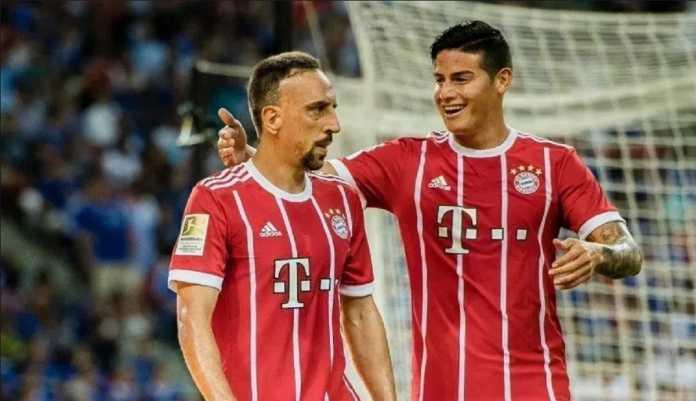 Franck Ribery dan James Rodriguez dipastikan absen ketika Bayern Munchen bertemu Freiburg pada akhir pekan ini.