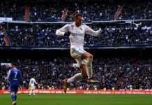 Gareth Bale pecahkan rekor penampilan David Beckham di La Liga.