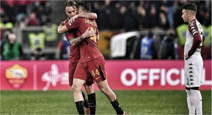 Menarik untuk mengamati bahwa ketiga pencetak gol AS Roma ke gawang Torino, Sabtu (Manolas, De Rossi, dan Pellegrini) adalah mantan rekan setim David Astori, kapten Fiorentina yang meninggal pekan silam