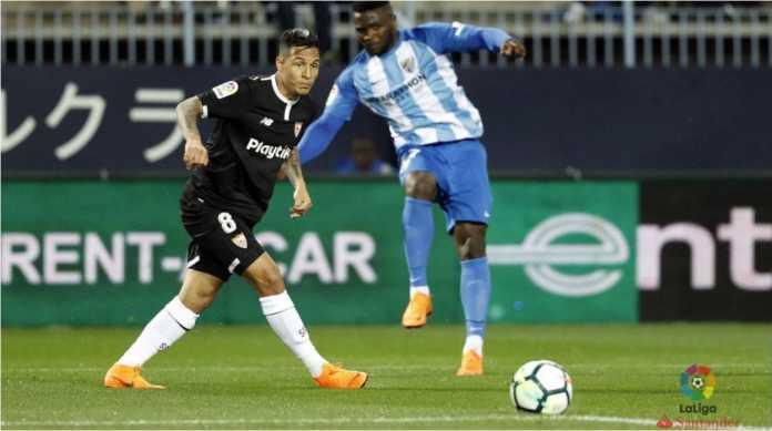 Laga Liga Spanyol antara Malaga vs Sevilla diwarnai oleh gol menit 15 tim tamu.