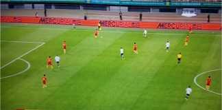 Laga persahabatan antara Tiongkok vs Wales diwarnai dengan dua gol di babak pertama oleh Gareth Bale