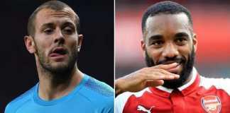 Alexandre Lacazette dan Jack Wilshere diharapkan bisa perkuat Arsenal di laga kontra Stoke City akhir pekan ini.