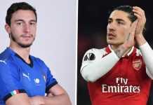 Juventus batal dekati bek Arsenal, Hector Bellerin, dan lebih memilih bek Manchester United, Matteo Darmian.
