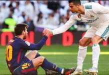 Rivalitas Lionel Messi dan Cristiano Ronaldo dinilai legenda Barcelona, Ronaldinho, sangat baik untuk dunia sepakbola.