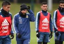 Lionel Messi diragukan memperkuat Timnas Argentina di laga melawan Timnas Italia, Jumat (23/3) malam waktu setempat, akibat alami cedera otot.