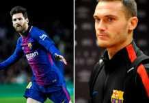Lionel Messi minta Barcelona pertahankan pemain asal Belgia, Thomas Vermaelen, karena penampilannya yang bagus di musim ini.