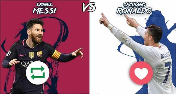 Pembicaraan soal rivalitas Lionel Messi vs Cristiano Ronaldo tak pernah berhenti, namun ternyata mereka berdua berbagi enam rekor bersama-sama