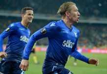 Lucas Leiva, Dynamo Kyiv vs Lazio, Liga Europa
