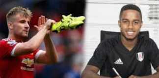 Posisi pemain Manchester United, Luke Shaw, di Timnas Inggris terancam permainan apik pemain muda Fulham, Ryan Sessegnon.