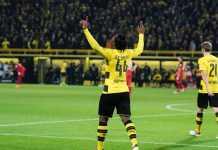 Michy Batshuayi, Borussia Dortmund vs Hannover, Liga Jerman