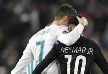 Neymar dan Cristiano Ronaldo, dua bintang sepakbola dunia