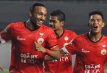 Ramdani Lestaluhu yakin Persija Jakarta menang di laga perdana Liga 1 Indonesia/2018 melawan Bhayangkara FC, Jumat (23/3).