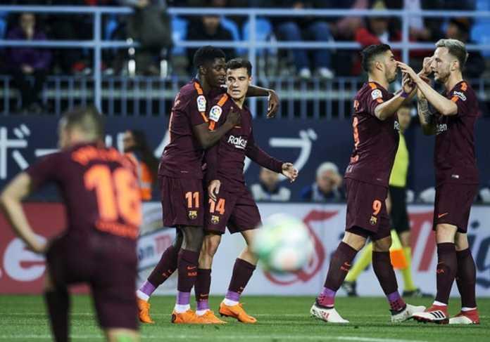 Philippe Coutinho katakan Ousmane Dembele bisa gantikan posisi Lionel Messi, di saat bintang asal Argentina itu berhalangan hadir saat Barcelona tandang ke Malaga, Minggu (11/3) dinihari tadi.