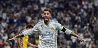 Real Madrid akan tampil tanpa sang kapten, Sergio Ramos, dalam laga melawan Girona, Senin (19/3) dinihari WIB.