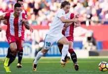 Real Madrid akan menjamu Girona - tim promosi yang pernah mengalahkannya di awal musim, Senin (19/3) dinihari WIB.