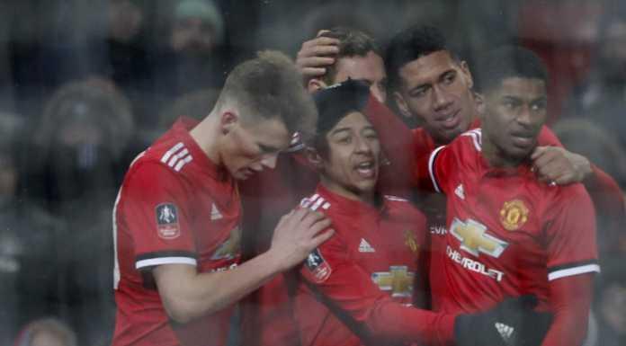 Skuad Manchester United, tampil buruk di Liga Inggris musim ini