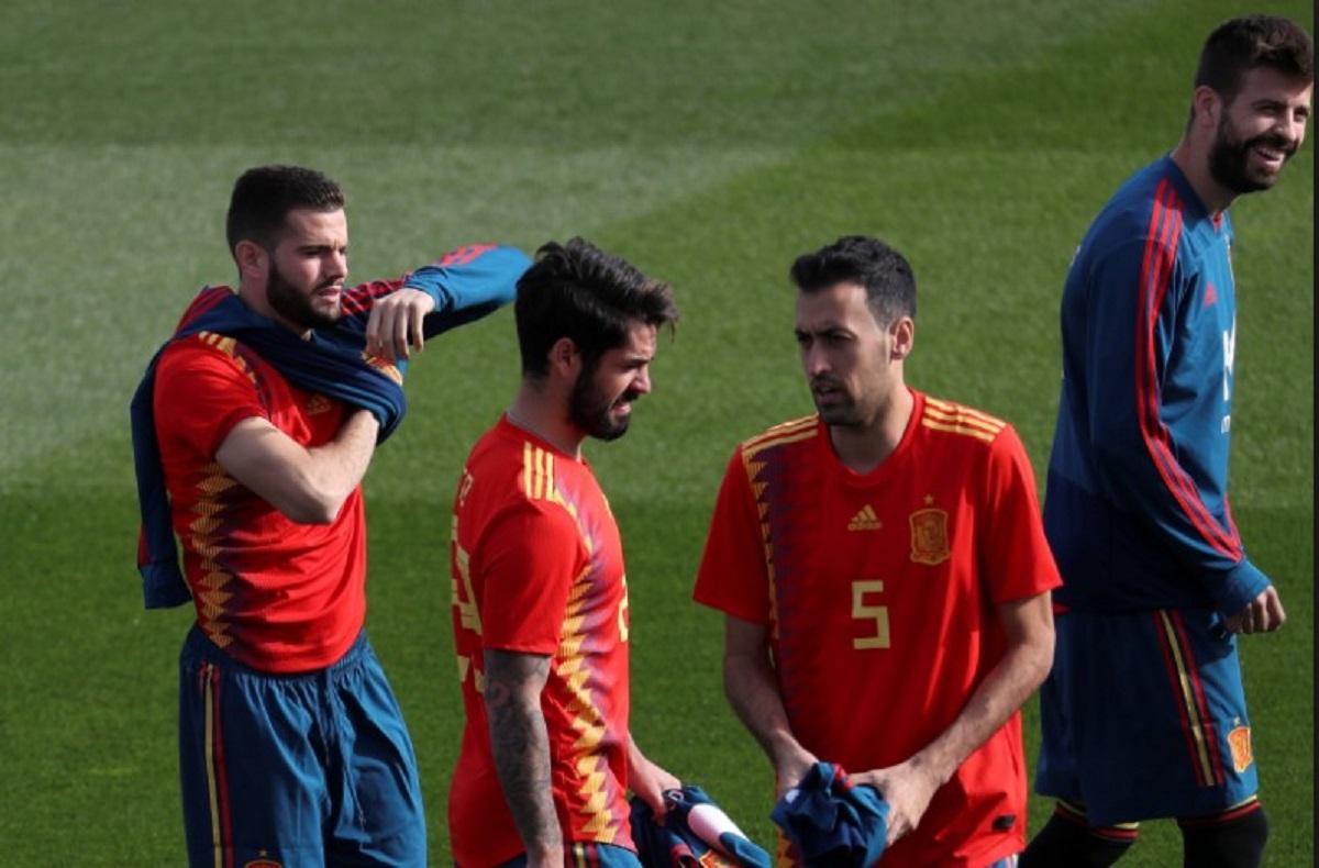 Timnas Spanyol Gelandang Atletico Madrid Dapat Nomor Alvaro