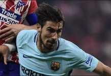 Tottenham Hotspur saingi Manchester United, kembali memburu pemain Barcelona, Andre Gomes.