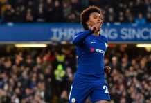 Willian, Chelsea vs Crystal Palace
