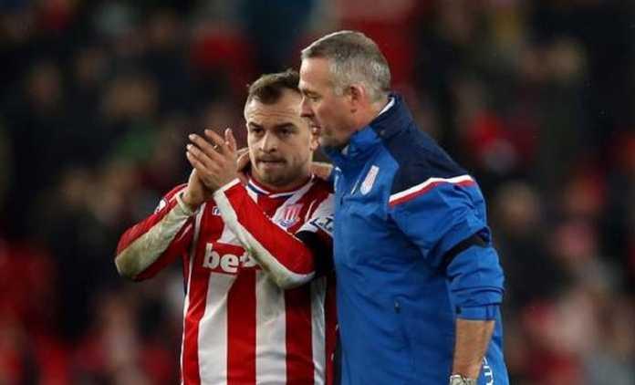 Pelatih Stoke City, Paul Lambert, akui timnya tengah berjuang keluar dari zona degradasi, tetapi kesulitan karena hanya bergantung pada Xherdan Shaqiri yang kemampuannya masih di bawah Lionel Messi.
