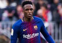 Yerry Mina ditantang tiga rekannya di Barcelona; Samuel Umtiti, Lucas Digne dan Ousmane Dembele, jelang Timnas Kolombia bertemu Prancis di laga persahabatan di Prancis pekan ini.