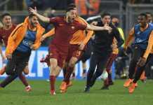 AS Roma vs Barcelona, Liga Champions
