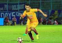Alberto Goncalves bertekad bukukan minimal 20 gol untuk Sriwijaya FC musim ini.